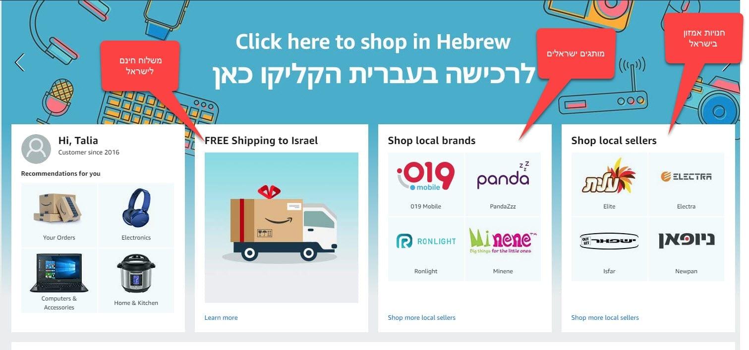 כניסת אמזון לישראל מאת טליה גרטמן